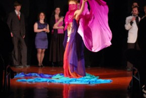 Hình ảnh Show diễn tại long xuyên cùng nhóm múa (Quán café bar Omely) - SaiGon Bellydance múa bụng ấn độ