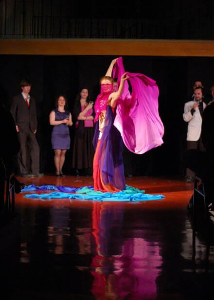 Show diễn bellydance tại long xuyên cùng nhóm múa bụng Bellygirls