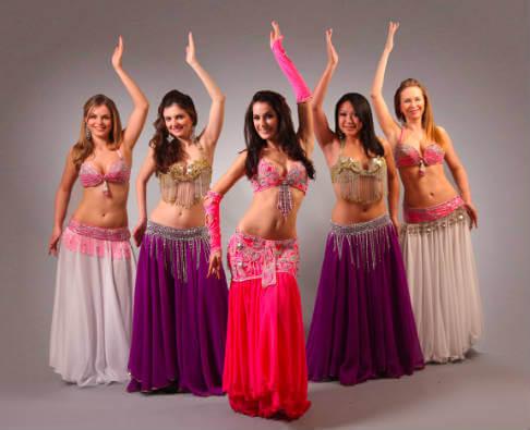 TrongBelly dance, khó nhất là việc tập thả lỏng toàn thân