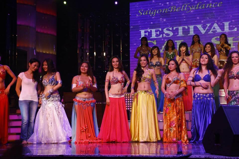 Festival Bellydance ở Sài Gòn năm 2014