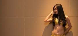 Hình ảnh Trang Phục Màu Vàng Đơn Giản Và Quý Phái - SaiGon Bellydance múa bụng ấn độ