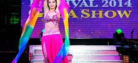 Hình ảnh Trang Phục Màu Hồng Đơn Giản Và Quý Phái - SaiGon Bellydance múa bụng ấn độ