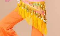 Hình ảnh Belt kim sa giọt nước và đồng xu - SaiGon Bellydance múa bụng ấn độ