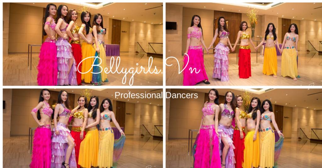 Nhóm Belly Dance chuyên nghiệp tại Việt Nam