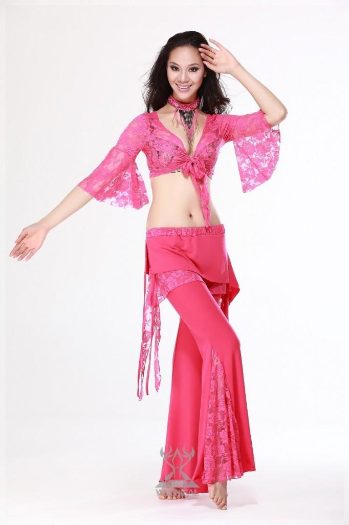 Hình ảnh Đồ Tập Thun Ren - SaiGon Bellydance múa bụng ấn độ