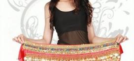 Hình ảnh Belt Đồng Xu Dạng Ngang Và Hai Hàng Kim Tuyến - SaiGon Bellydance múa bụng ấn độ
