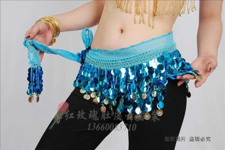 Hình ảnh Belt  kim sa đồng xu - SaiGon Bellydance múa bụng ấn độ