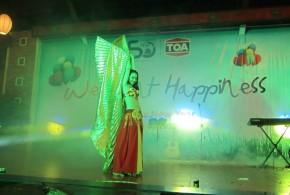 """Hình ảnh Bữa tiệc tất niên cuối năm """" We paint Happiness"""" - SaiGon Bellydance múa bụng ấn độ"""