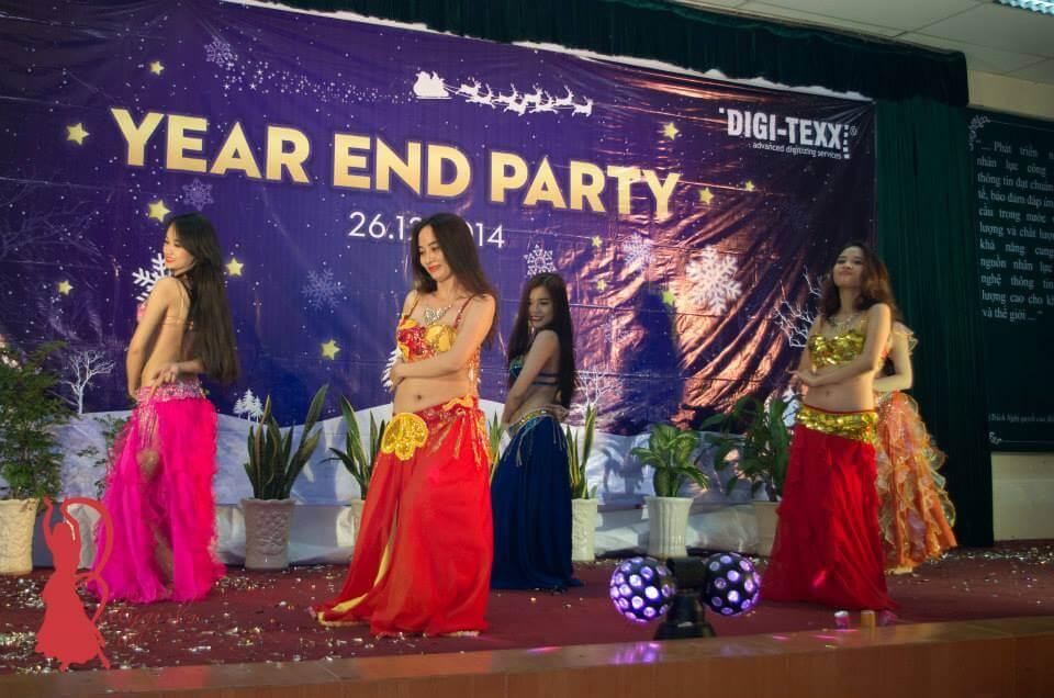 Hình ảnh Year End Party tại Công ty Phần mềm Quang Trung Quận 12 - SaiGon Bellydance múa bụng ấn độ