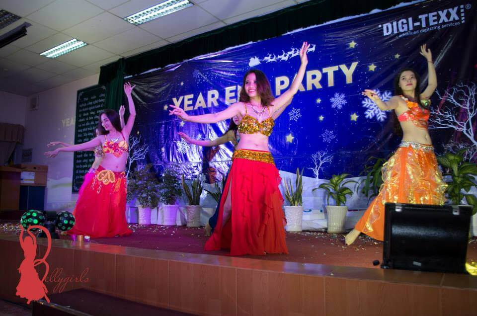 Belly Dance Year End Party ở Cty phần mềm Quang Trung