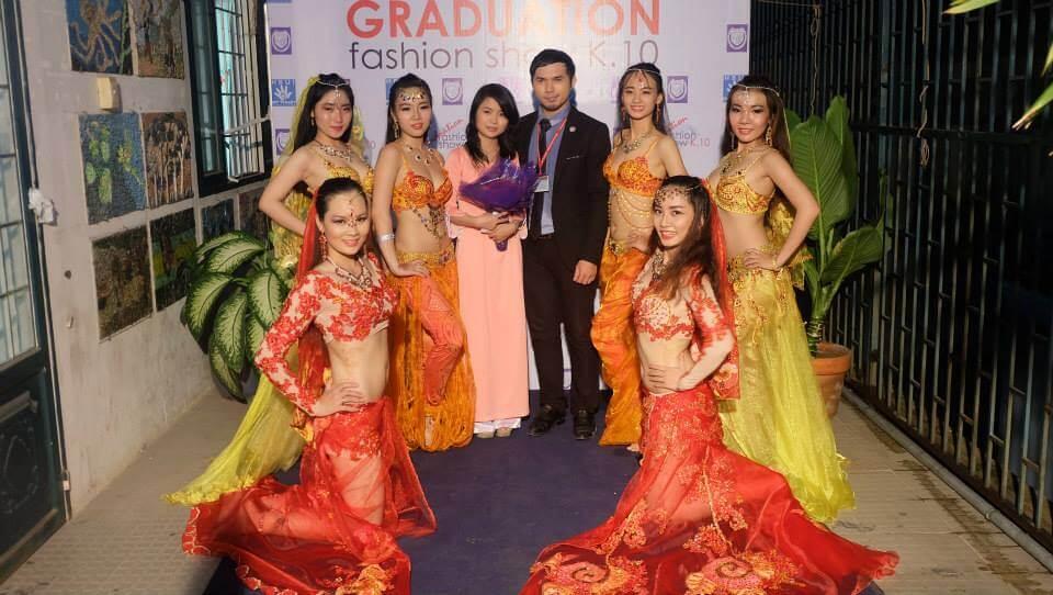 Show diễn thời trang Bellydance tại Trường ĐH Quốc tế Hồng Bàng