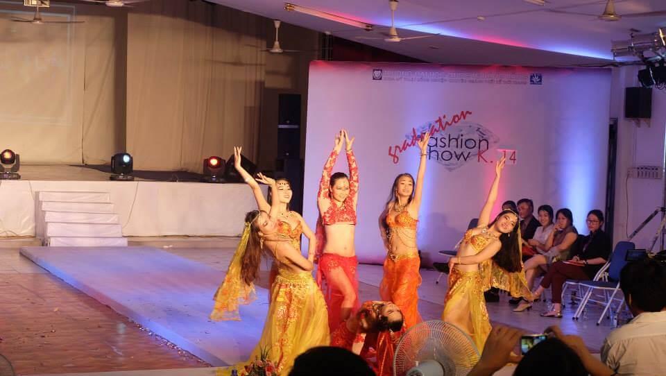 Hình ảnh Show diễn thời trang Bellydance tại Trường ĐH Quốc tế Hồng Bàng - SaiGon Bellydance múa bụng ấn độ