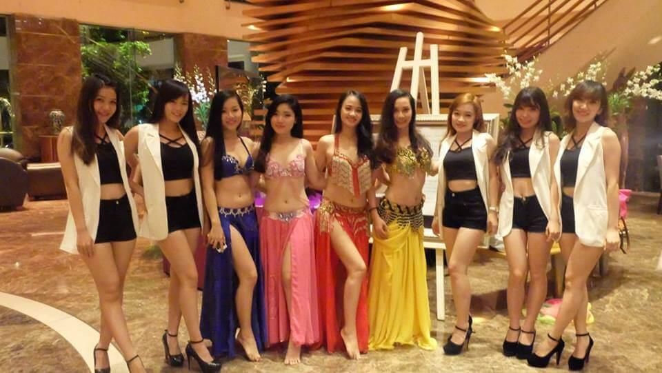 Hình ảnh Show diễn Event tại Sofitel Saigon Hotel - SaiGon Bellydance múa bụng ấn độ
