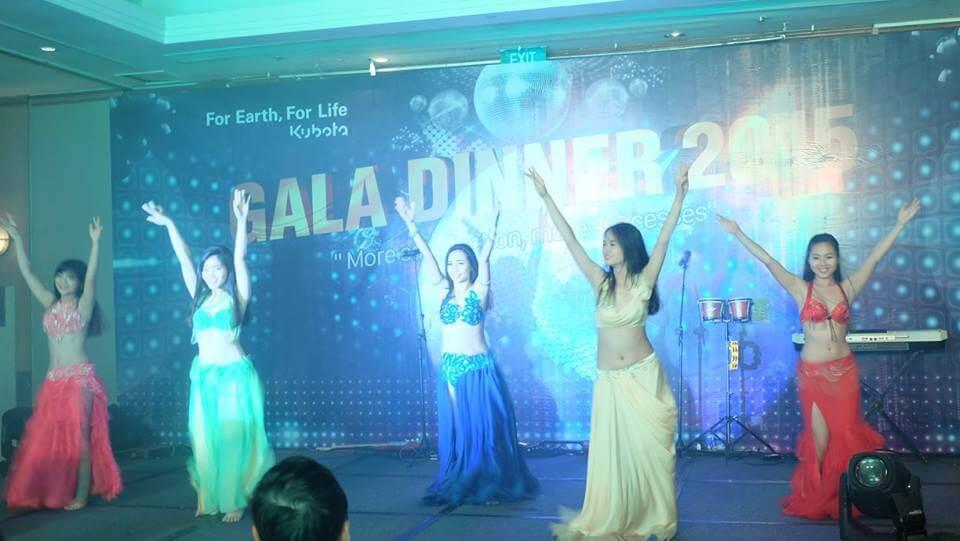 Nhóm biểu diễn bellydance chuyên nghiệp và giá tốt ở Sài Gòn