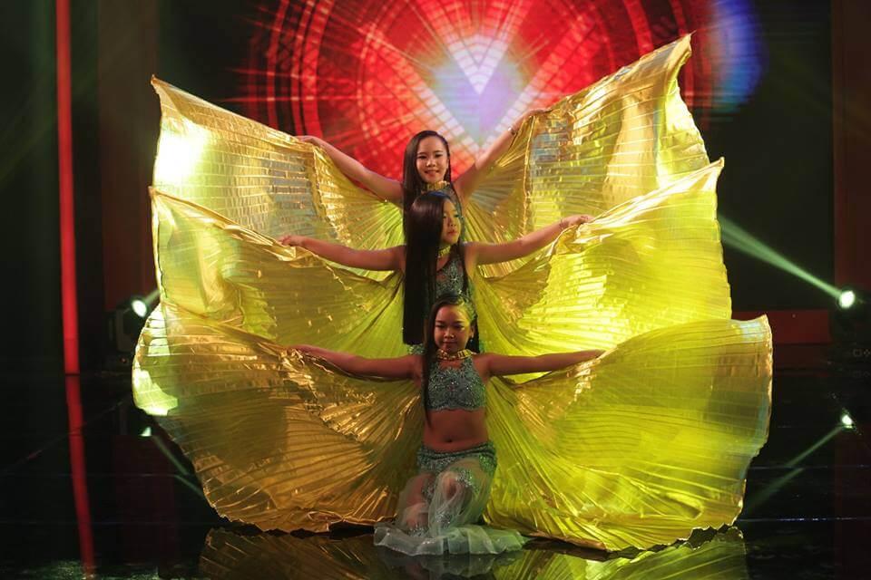 Hình ảnh Múa bụng thiếu nhi_Giải nhất tuần Cuộc Thi Bạn Có Thực Tài_Vietnam Game Show - SaiGon Bellydance múa bụng ấn độ