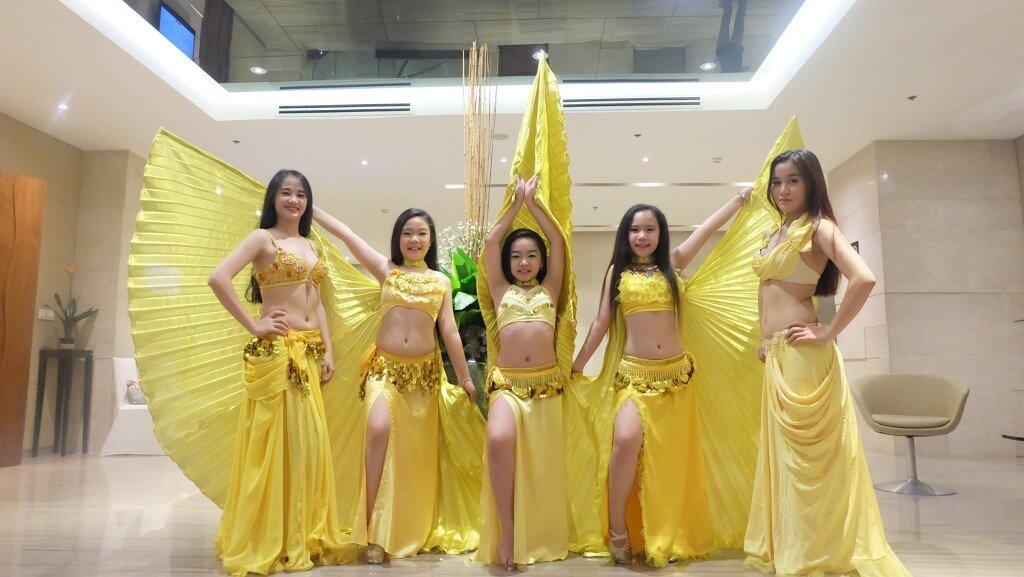 Trung tâm dạy múa bụng chuyên nghiệp cho trẻ em thiếu nhi tại HCM