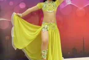 Hình ảnh Múa bụng thiếu nhi tài năng-Bé Mỹ Kiều 5 tuổi - SaiGon Bellydance múa bụng ấn độ