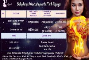 Hình ảnh Workshop múa bụng chuyên nghiệp tại Bellygirls 2017 - SaiGon Bellydance múa bụng ấn độ