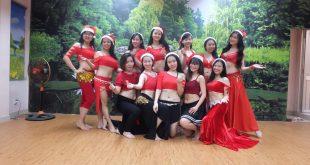 Giáng sinh với điệu múa Bellydance tại Bellygirls Club