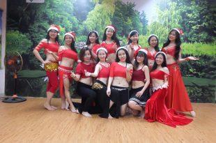 Hình ảnh Giáng sinh với điệu múa Bellydance tại Bellygirls Club - SaiGon Bellydance múa bụng ấn độ