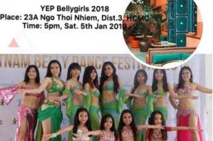 Hình ảnh Year end Party- Bellygirls Club 2018 - SaiGon Bellydance múa bụng ấn độ